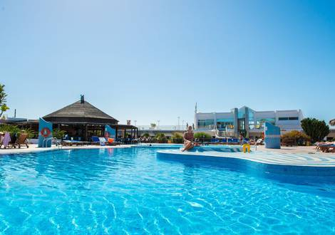 Pools Hotel HL Club Playa Blanca****